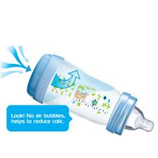 Baby products distributor of MAM Easy Start Anti-Colic Bottle Blue 160ml 3Pk