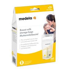 Baby products distributor of Medela Breastmilk Storage Bag 25Pk