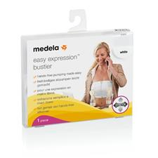 Baby products distributor of Medela Expression Bustier White Medium