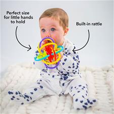 Baby products distributor of Nuby Lots Of Loops Teether