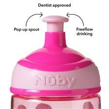 Baby products distributor of Nuby Super Slurp Tritan Freeflow Cup