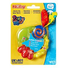Baby products distributor of Nuby Wacky Teether