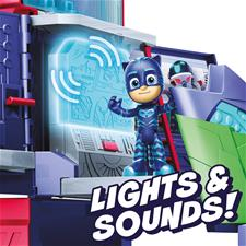 Baby products distributor of PJ Masks 2 in 1 Mobile HQ Playset