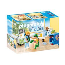 Baby products distributor of Playmobil City Life Children's Hospital Room