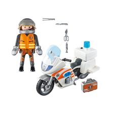 Baby products distributor of Playmobil City Life Emergency Motorbike