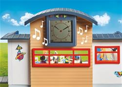 Baby products distributor of Playmobil City Life Furnished School Building with Digital Clock