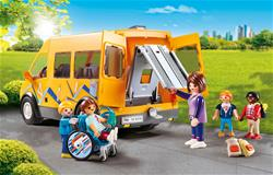 Baby products distributor of Playmobil City Life School Van with Folding Ramp