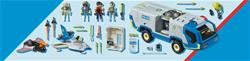 Baby products distributor of Playmobil Galaxy Police Truck