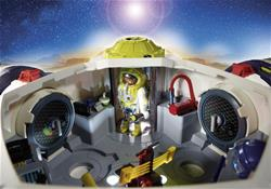 Baby products distributor of Playmobil Space Mars Space Station with Functioning Double Laser Shooter