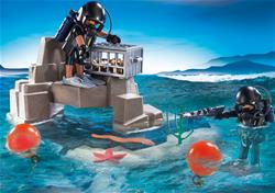 Baby products distributor of Playmobil Super Set Tactical Dive Unit