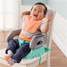 Baby products distributor of Summer Infant Deluxe Comfort Folding Booster Seat Teal
