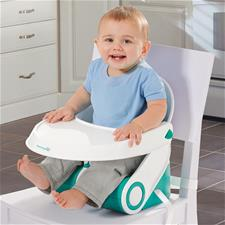 Baby products distributor of Summer Infant Sit N Style Booster Seat Teal/White