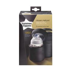 Baby products distributor of Tommee Tippee Closer to Nature Insulated Bottle Carrier 2Pk