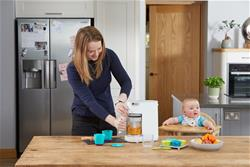 Baby products distributor of Tommee Tippee Quick Cook Food Steamer & Blender