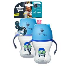 Baby products distributor of Tommee Tippee Soft Sippee Trainer Cup 230ml