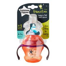 Baby products distributor of Tommee Tippee Transition Sippee Trainer Cup 4-7m