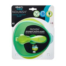Baby products distributor of Vital Baby NOURISH Power Suction Bowl Pop