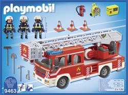 Baby products wholesaler of Playmobil Fire Engine with Ladder and Lights and Sounds