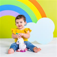 Baby products distributor of Bright Starts Sparkle N Shine Unicorn