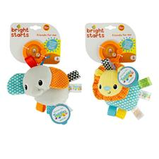 Baby products distributor of Bright Starts Taggies Friends For Me