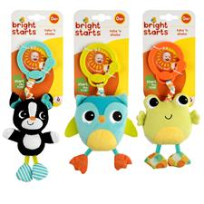 Bright Starts Take & Shake Animals