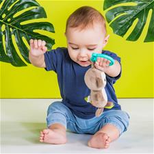 Baby products distributor of Bright Starts Tug Tunes Monkey