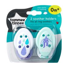 Tommee Tippee Close to Nature Soother Holder 2Pk