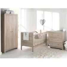 Fontana Room Set - Cot Bed, Dresser & Wardrobe