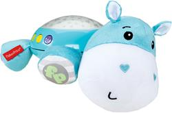 Hippo Plush Projection Soother Buttons