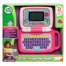 Baby products distributor of Leap Frog 2-in-1 LeapTop Touch Laptop pink