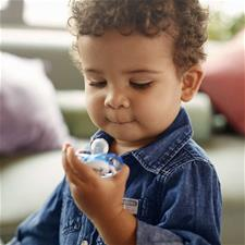 Philips Avent Freeflow Bite Resistant Soothers Boys 18m+ 2Pk