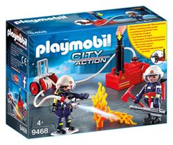 Baby products wholesaler of Playmobil Firefighters with Water Pump