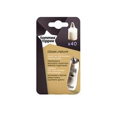 Baby products distributor of Tommee Tippee Closer to Nature Ear Thermometer Hygiene Covers 40Pk