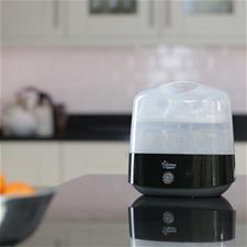 Tommee Tippee Closer to Nature Electric Steriliser Black