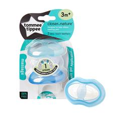 Tommee Tippee Closer to Nature Teether Stage 1 2Pk