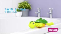 Tomy Bath Toy Swim and Sing Turtle