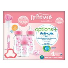 Wholesale of Dr Brown's Options+ Gift Set Pink