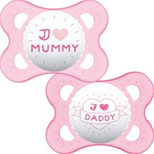 Wholesale of MAM Style (I Love) Soother 0m+ 2Pk