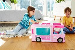 Baby products distributor of Barbie 3 in 1 Dream Camper