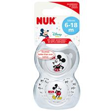Baby products distributor of NUK Disney Soothers 6-18m 2Pk