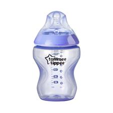Baby products distributor of Tommee Tippee Closer to Nature Colour My World Bottle Blue 260ml 3Pk