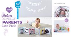 Baby products supplier of Taf Toys 3 in 1 Baby Book