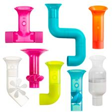 Baby products wholesaler of Boon BUNDLE Building Bath Toy Set