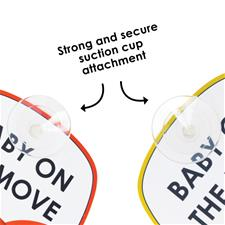 Baby products wholesaler of Diono Baby on the Move Signs 2Pk