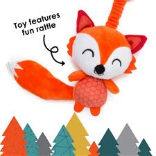Baby products wholesaler of Diono Harness Soft Wraps & Linkie Toy Fox