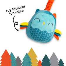 Baby products wholesaler of Diono Harness Soft Wraps & Linkie Toy Owl
