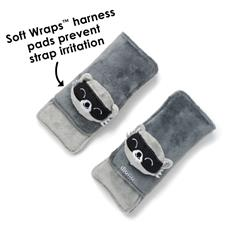 Baby products wholesaler of Diono Harness Soft Wraps & Linkie Toy Raccoon