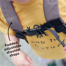 Baby products wholesaler of Diono Safety Reins & Backpack Raccoon