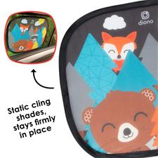 Baby products wholesaler of Diono Sun Stopper Cling Shades Animals 2Pk