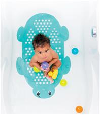 Baby products wholesaler of Infantino 2-in-1 Bath Mat & Storage Basket Turtle
